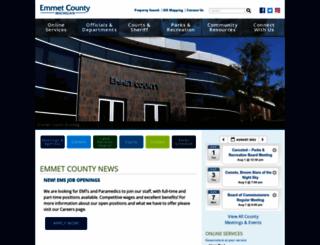 emmetcounty.org screenshot