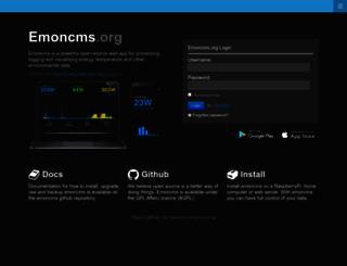 emoncms.org screenshot
