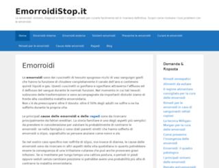 emorroidistop.it screenshot