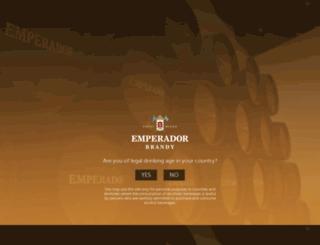 emperadorbrandy.com screenshot