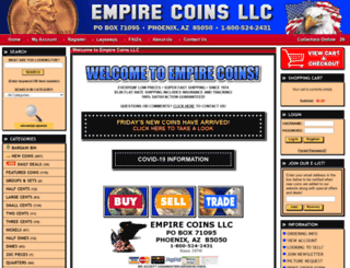 empirecoins.net screenshot