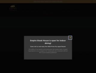 empiresteakhousenyc.com screenshot
