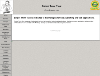 empirethinktank.com screenshot