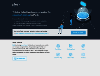 empirisoft.com.au screenshot