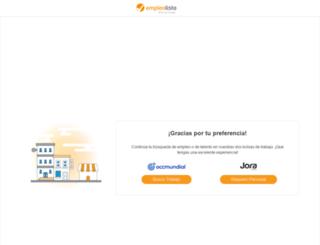 empleolisto.com.mx screenshot