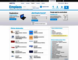 empleos.clasificadoslavoz.com.ar screenshot