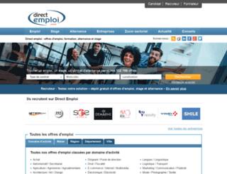 emploi-et-industrie.fr screenshot