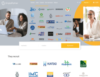emploipartner.com screenshot