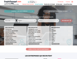 emploisenegal.com screenshot