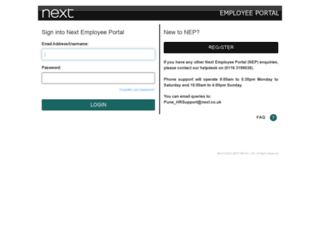 employee.next.co.uk screenshot