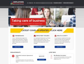 employers.co.nz screenshot