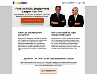 employment-law.legalmatch.com screenshot