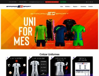 emporiosport.com.mx screenshot
