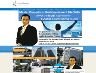 empoweradvisory.com screenshot