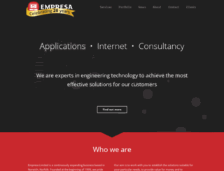 empresa.co.uk screenshot