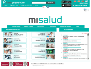 empresas.fraternidad-prevencion.com screenshot