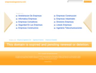 empresasingenieria.com screenshot