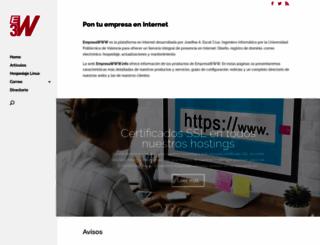 empresawww.info screenshot