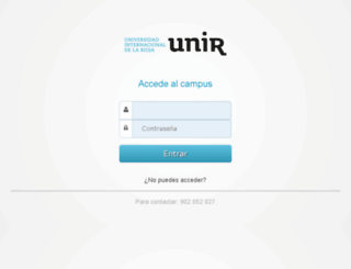 empresaycomunicaciononline.unir.net screenshot