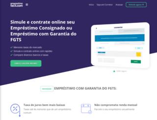 emprestimofacil.com screenshot