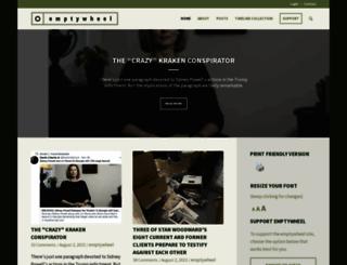 emptywheel.net screenshot