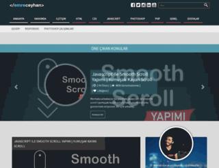 emreceyhan.net screenshot