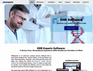 emrexperts.com screenshot