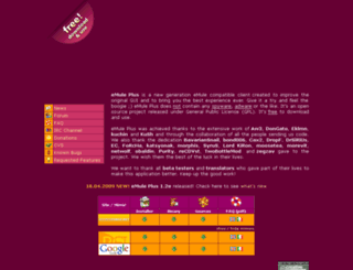 emuleplus.sourceforge.net screenshot