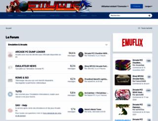 emuline.fr screenshot