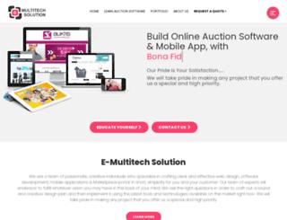 emultitechsolution.com screenshot