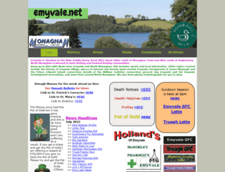 emyvale.net screenshot