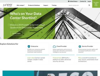 en-au.juniper.net screenshot