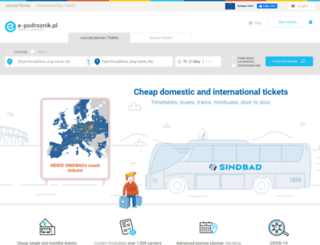 en.e-podroznik.pl screenshot