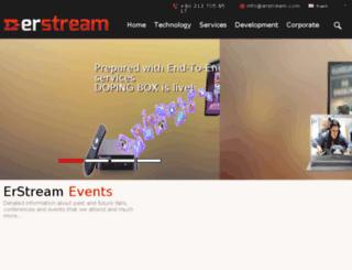en.erstream.com screenshot