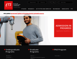 en.etsmtl.ca screenshot