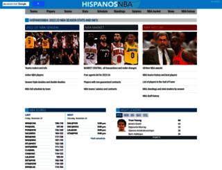en.hispanosnba.com screenshot