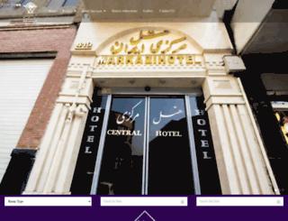en.hotelmarkazi.com screenshot