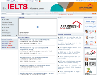 en.ielts-house.com screenshot
