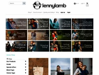 en.lennylamb.com screenshot