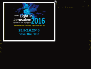 en.lightinjerusalem.org.il screenshot