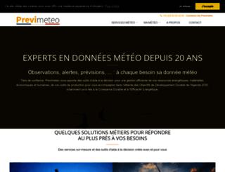 en.previmeteo.com screenshot
