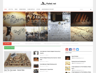 en.rafed.net screenshot