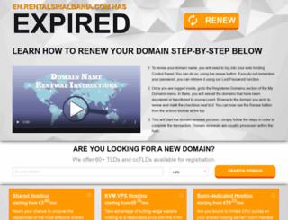 en.rentalsinalbania.com screenshot