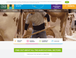 en.salon-agriculture.com screenshot