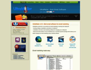 en.ultramailer.org screenshot