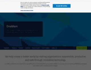 enablon.fr screenshot