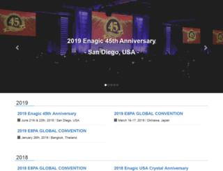 enagic-convention.com screenshot