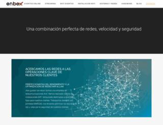 enbex.es screenshot