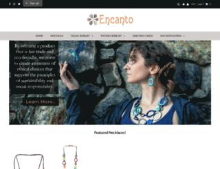 encantojewels.com screenshot