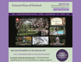 enchantedmanorinn.com screenshot